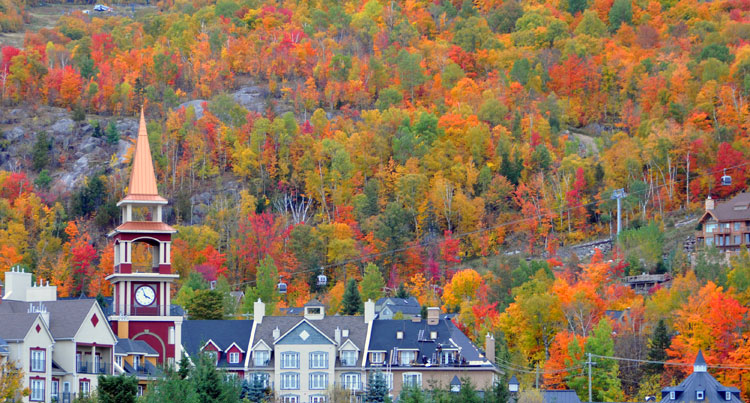 Tremblant inn resort h tel motel inn le bois du lac for Lac miroir mont tremblant